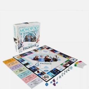 NIB Frozen II Monopoly Game Hasbro